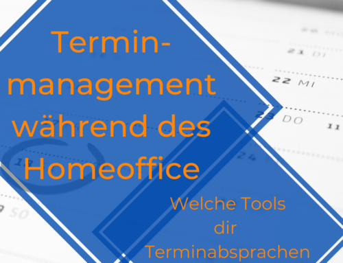 Terminmanagement im Homeoffice